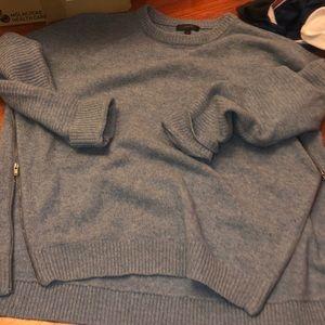 Sweaters - Jcrew side zip sweater